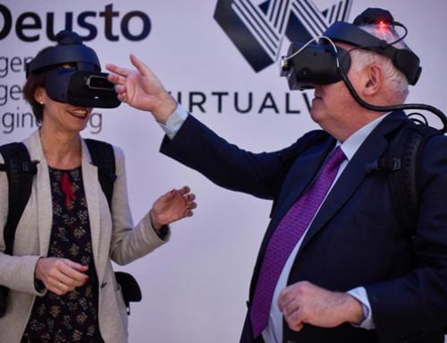 La Universidad de Deusto y Virtualware inauguran un laboratorio de realidad virtual pionero en el mundo